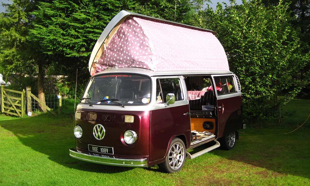 Camper Hire VW Campervans to Rent in Cumbria Lake
