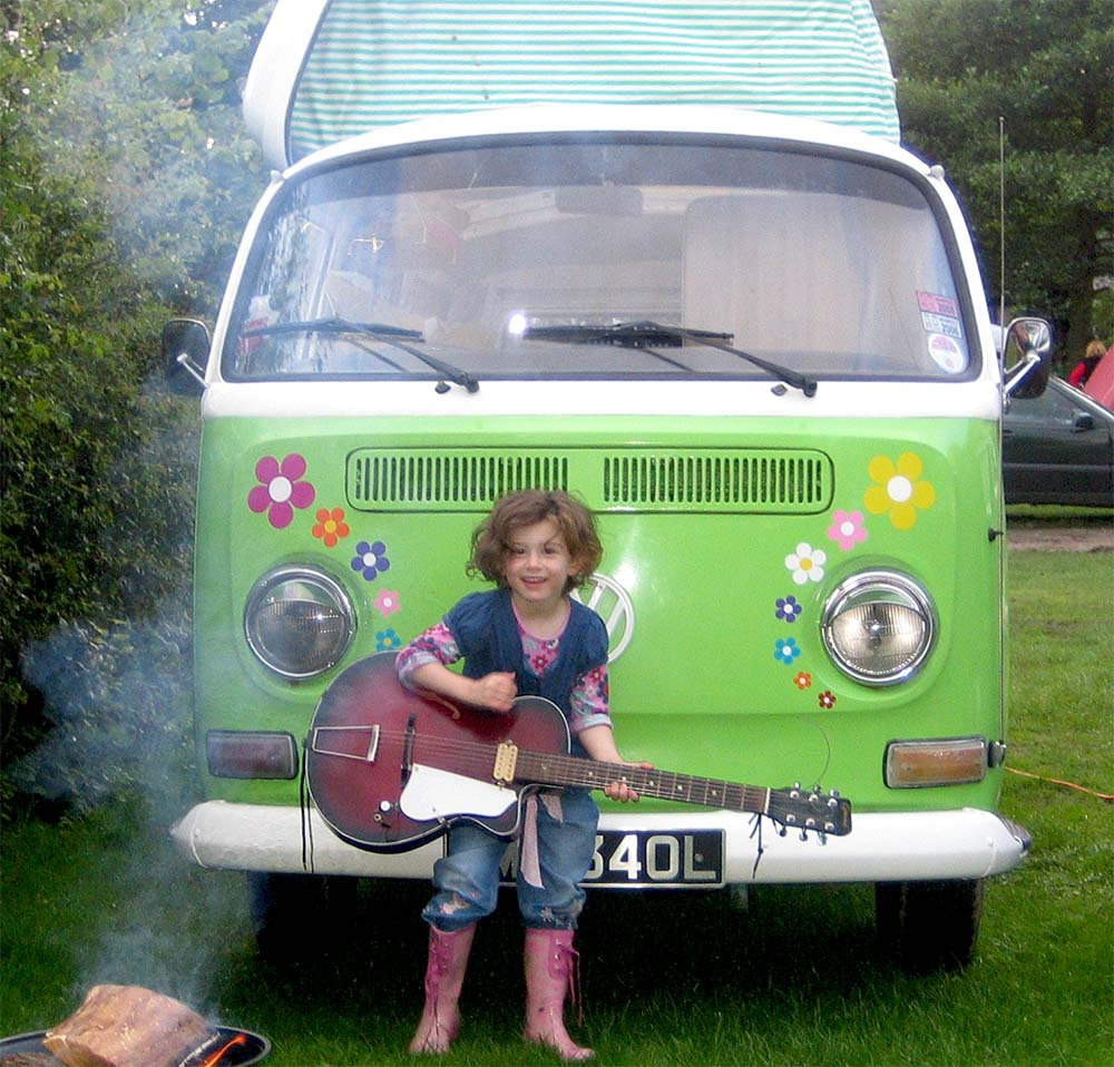 Meet Fleur Our 1972 Dormobile For Hire In The Lake