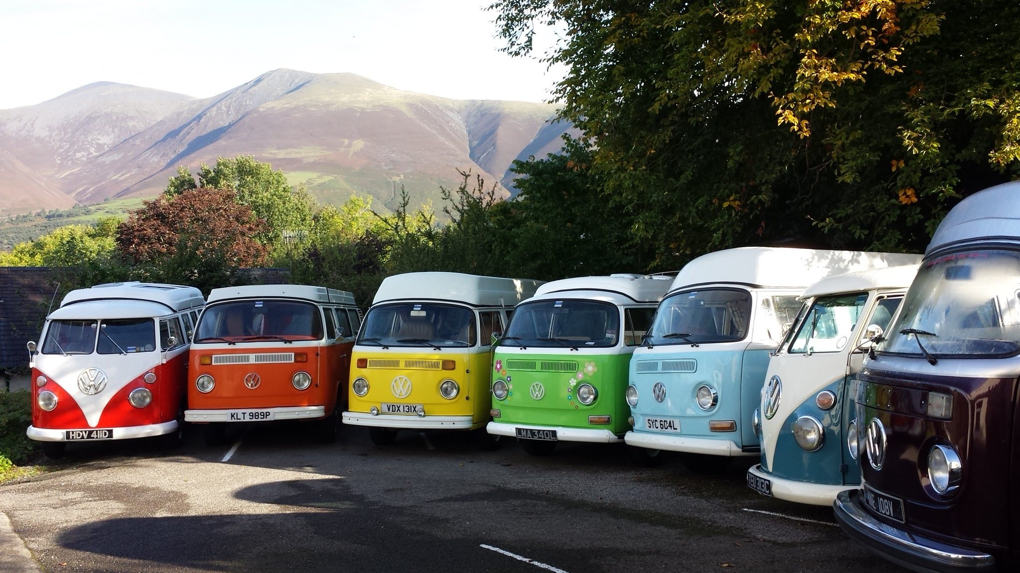 Volkswagen Camper Hire | VW Campervan to Rent in The Lake District, Cumbria, Northwest England