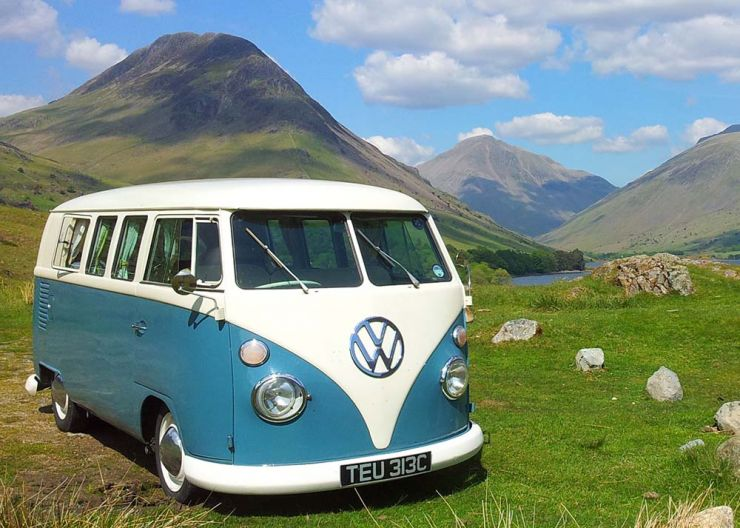 Rainbow Camper Hire Lake District Cumbria A VW Van And Travel Around The Scotland Available From